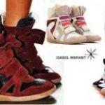 Женские кроссовки Isabel Marant