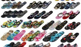 Разнообразие видов и стилей пляжной обуви