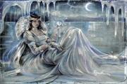 Сказочное прозрачное платье из льда