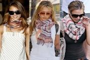 Как лучше носить платок-каре