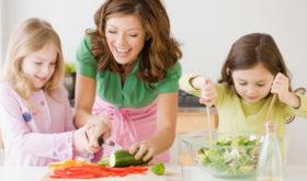 Дошкольное развитие ребенка на кухне