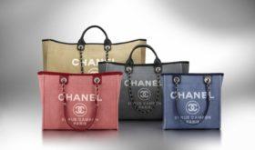 Тренд сезона — пляжная сумка Chanel