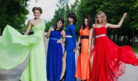Как выбрать платье для выпускного по фигуре