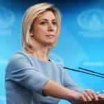 Мария Захарова проведет прямой эфир с директором турагентства
