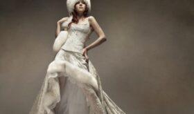 Какое оно — зимнее свадебное платье?