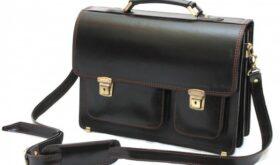 Кожаные портфели — незаменимые аксессуары деловых и успешных людей