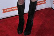Модные сапоги для длинных ног