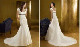 Свадебное платье в стиле «империя»