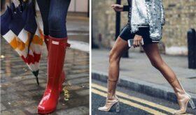 Новинки женской моды: резиновые сапоги