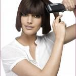 Выпрямляем волосы
