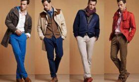 Стильная и модная одежда для мужчин