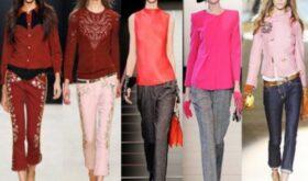 Модные цвета зимой 2012-2013