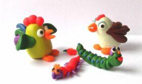 Развиваем творческие способности малыша с помощью разноцветного пластилина