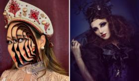 Страшно красиво: пошаговые советы, как сделать крутой макияж на Хэллоуин