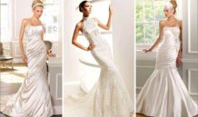 Свадебное платье в стиле «русалка»