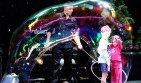 Шоу мыльных пузырей для детей – это праздник детства