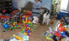 Как навести порядок с детскими игрушками