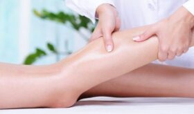 Лечебный массаж для ног