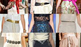Модные женские ремни 2014-2015 года
