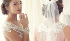 Фата – модный свадебный аксессуар