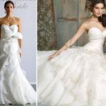 Модные тенденции свадебных платьев