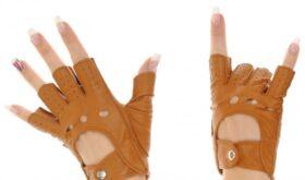 Длинные перчатки с обрезанными пальцами для гламурных красоток