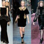 Модные платья зимнего сезона