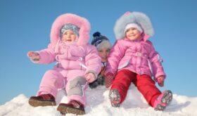 Выбираем детский зимний комбинезон